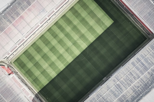 Stadium top view