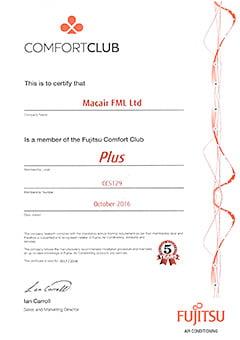 Fujitsu Comfort Club